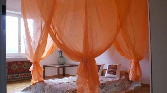 Zanzariera Letto Cotone : Zanzariere cotone rete saari quadrate rotonde raso campanelli